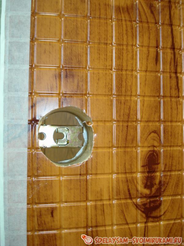 Дверь из панели пвх