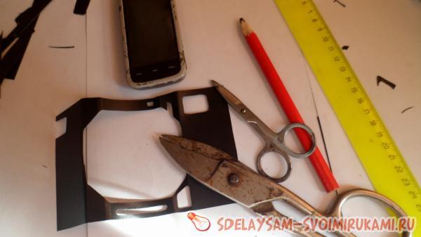 Чехол для телефона из силикона своими руками