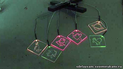 Легкие самоделки со светодиодами своими руками
