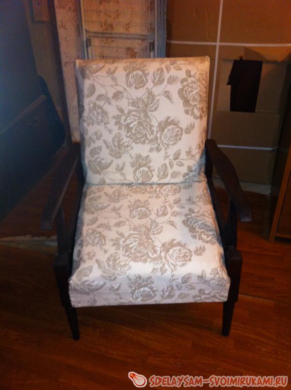 Как изменить старое кресло своими руками 80