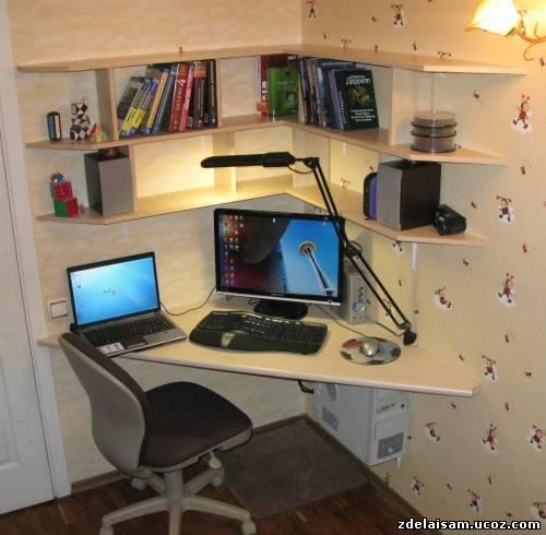 Компьютерные столы сделать своими рук