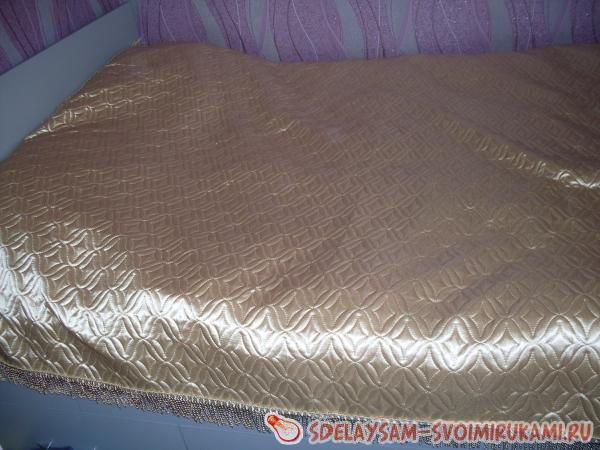 Как застелить кровать красиво пошагово