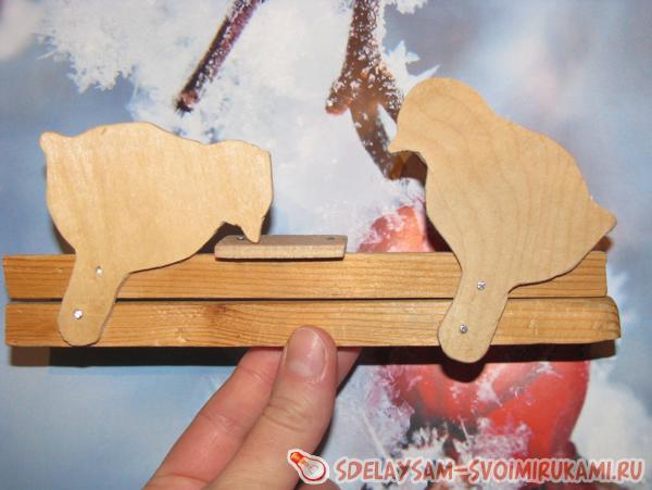 Игрушки из дерева для детей своими руками