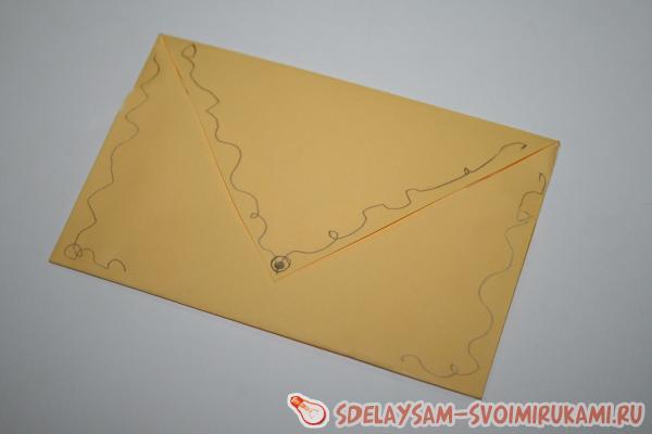 Красивые конверты почтовые своими руками 19