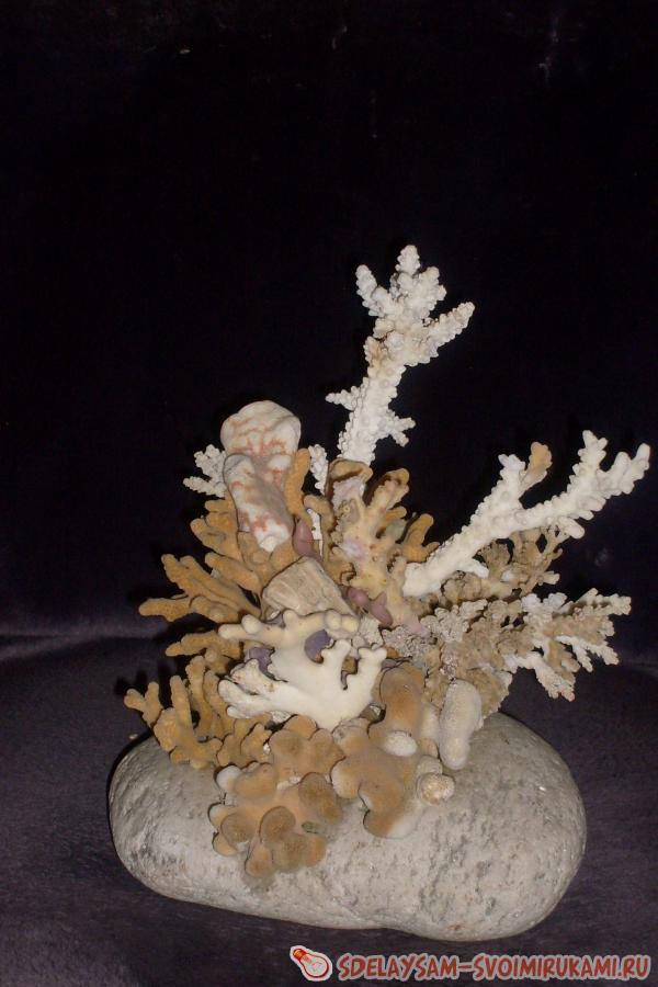 Поделки из морских кораллов