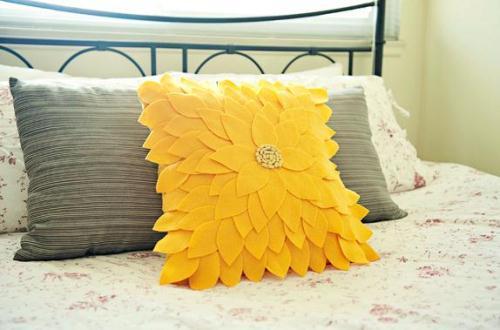 Как своими руками сделать декоративную подушку своими руками